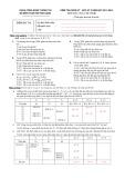 Đề kiểm tra giữa kỳ - học kỳ 2 năm học 2013-2014 môn Cơ sở dữ liệu 2 (Đề số DB142)