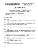 Ngân hàng đề thi Vật lý đại cương A1