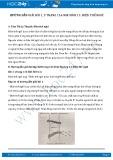 Hướng dẫn giải bài 1,2 trang 116 SGK Sinh 11