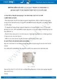 Hướng dẫn giải bài 1,2,3,4,5,6,7 trang 43 SGK Sinh 11