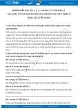 Hướng dẫn giải bài 1,2,3,4 trang 157 SGK Sinh 11