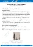 Hướng dẫn giải bài 1,2,3 trang 27 SGK Sinh 11