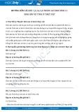 Hướng dẫn giải bài 1,2,3,4,5,6 trang 162 SGK Sinh 11