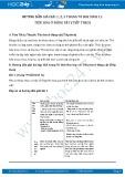 Hướng dẫn giải bài 1,2,3 trang 70 SGK Sinh 11