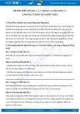 Hướng dẫn giải bài 1,2,3 trang 113 SGK Sinh 11