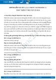 Hướng dẫn giải bài 1,2,3,4 trang 146 SGK Sinh 11