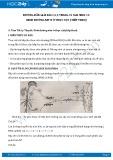 Hướng dẫn giải bài 1,2,3 trang 31 SGK Sinh 11