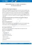 Hướng dẫn giải bài 1,2,3 trang 126 SGK Sinh 11