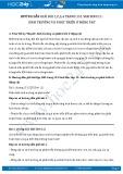 Hướng dẫn giải bài 1,2,3,4 trang 151 SGK Sinh 11