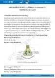 Hướng dẫn giải bài 1,2,3,4 trang 123 SGK Sinh 11