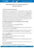 Hướng dẫn giải bài 1,2,3,4 trang 66 SGK Sinh 11