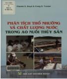 Ebook Phân tích thổ nhưỡng và chất lượng nước trong ao nuôi thủy sản: Phần 2