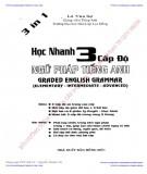 Ebook Học nhanh 3 cấp độ ngữ pháp tiếng Anh: Phần 1