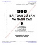 500 bài toán cơ bản và nâng cao 6 (tái bản lần thứ 2): phần 2