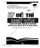 Ebook 37 đề thi Ngữ văn: Phần 1