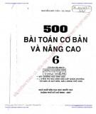 500 bài toán cơ bản và nâng cao 6 (tái bản lần thứ 2): phần 1