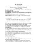 Tiêu chuẩn ngành 10 TCN 439:2001