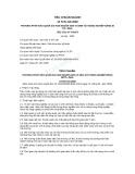 Tiêu chuẩn ngành 10 TCN 416:2000