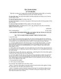 Tiêu chuẩn ngành 10 TCN 438:2001