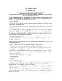 Tiêu chuẩn ngành 10 TCN 442:2001