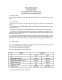 Tiêu chuẩn ngành 10 TCN 447:2001