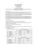 Tiêu chuẩn ngành 10 TCN 462:2001
