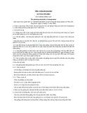 Tiêu chuẩn ngành 10 TCN 475:2001