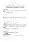 Tiêu chuẩn ngành 10 TCN 494:2002