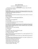 Tiêu chuẩn ngành 10 TCN 510:2002