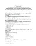 Tiêu chuẩn ngành 14 TCN 22:2002