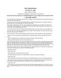 Tiêu chuẩn ngành 22TCN 271:2001