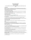 Tiêu chuẩn ngành 28 TCN 138:1999