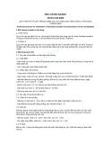 Tiêu chuẩn ngành 28 TCN 155:2000