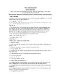 Tiêu chuẩn ngành 28 TCN 160:2000