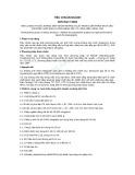 Tiêu chuẩn ngành 28 TCN 177:2002