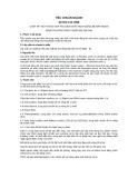 Tiêu chuẩn ngành 64 TCN 112:1999