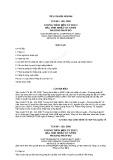 Tiêu chuẩn ngành TCN 68-193:2000