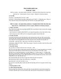 Tiêu chuẩn Quốc gia TCVN 301:2010