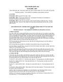 Tiêu chuẩn Quốc gia TCVN 2698:2007