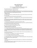 Tiêu chuẩn Việt Nam TCVN 2748:1991