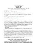 Tiêu chuẩn Quốc gia TCVN 2752:2008 - ISO 1817:2005