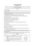 Tiêu chuẩn Việt Nam TCVN 3989:1985
