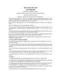 Tiêu chuẩn Việt Nam TCVN 4060:1985