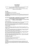 Tiêu chuẩn Quốc gia TCVN 4065:2007 - ISO 2332:1993