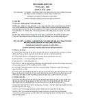 Tiêu chuẩn Quốc gia TCVN 4183:2009