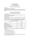 Tiêu chuẩn Quốc gia TCVN 4208:2009