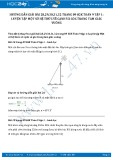 Hướng dẫn giải bài 28,29,30,31,32 trang 89 SGK Toán 9 tập 1