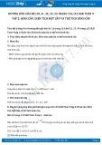Hướng dẫn giải bài 30,31,32,33,34 trang 124,125 SGK Toán 9 tập 2
