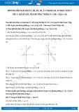 Hướng dẫn giải bài 27,28,29,30,31 trang 58,59 SGK Toán 9 tập 1