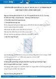 Hướng dẫn giải bài 44,45,46,47,48,49,50,51,52 trang 86,87 SGK Toán 9 tập 2